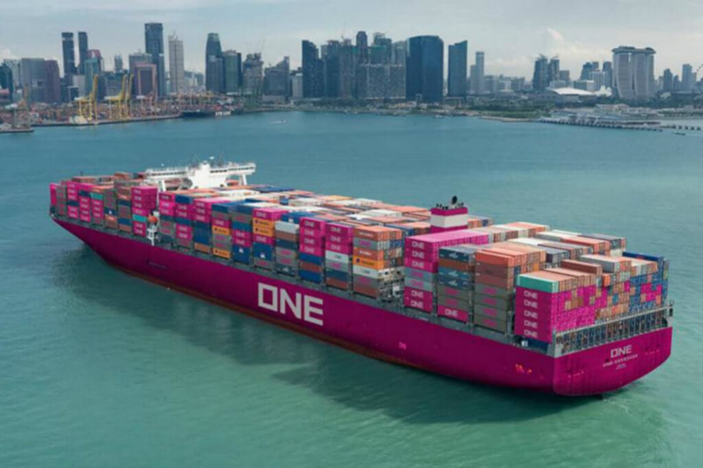 Ocean Network Express (ONE) Container Ship