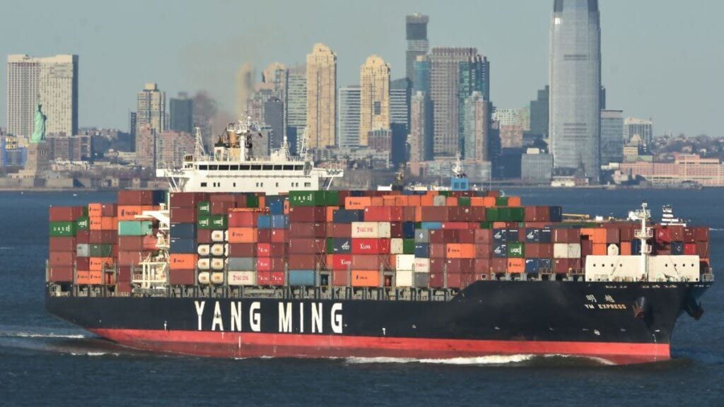 Yang Ming Container Ship